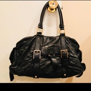 Botkier large black leather satchel